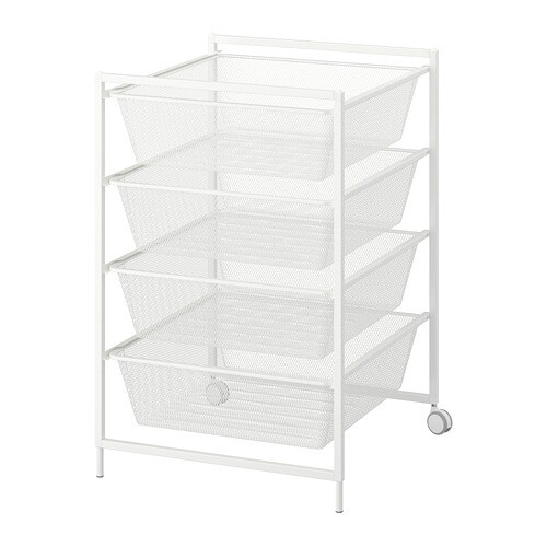 JONAXEL 요낙셀 프레임+메시바구니/바퀴 IKEA
