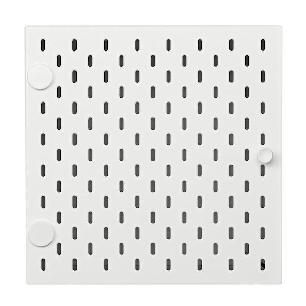 KALLAX 칼락스 인서트+타공보드, 화이트, 33x33 cm