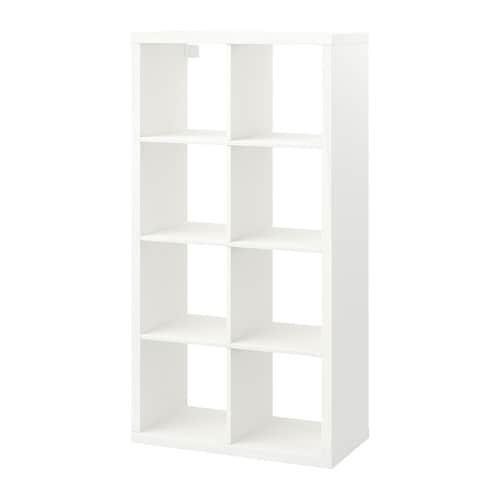 KALLAX 칼락스 선반유닛 IKEA 뒷면도 마감처리가 되어 있어서 파티션으로 활용할 수도 있습니다. 가로/세로로 놓고 사용하거나 선반, 보조 테이블로 사용할 수도 있습니다.