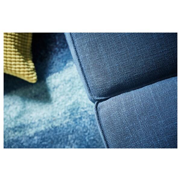 쉬비크 4인용소파 긴의자/힐라레드 다크블루 318 cm 83 cm 95 cm 163 cm 60 cm 124 cm 45 cm