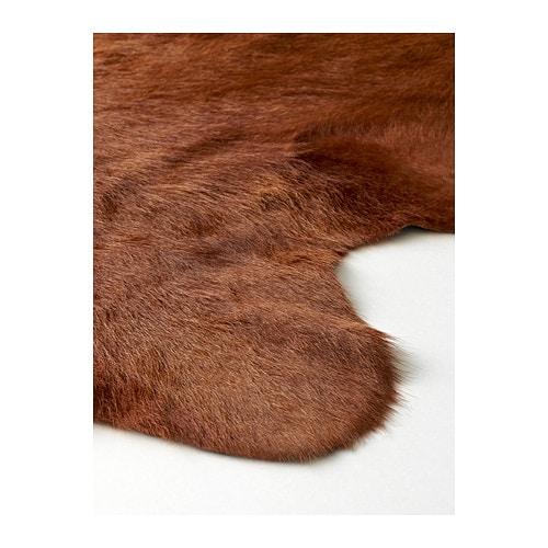 KOLDBY 콜드뷔 소가죽 IKEA 가죽의 특성에 따라 무늬와 색상, 크기가 조금씩 다를 수 있으며 제품마다 독특한 매력을 느낄 수 있습니다. 소가죽은 내구성이 뛰어나서 오랫동안 사용할 수 있습니다.