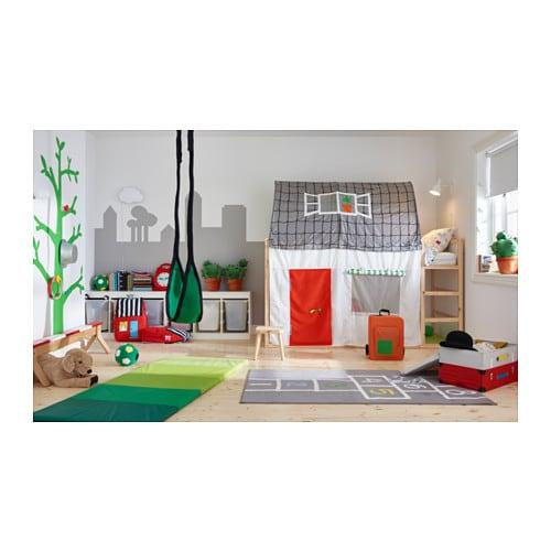 KURA 양면침대 IKEA 침대를 뒤집으면 2층 침대가 됩니다.