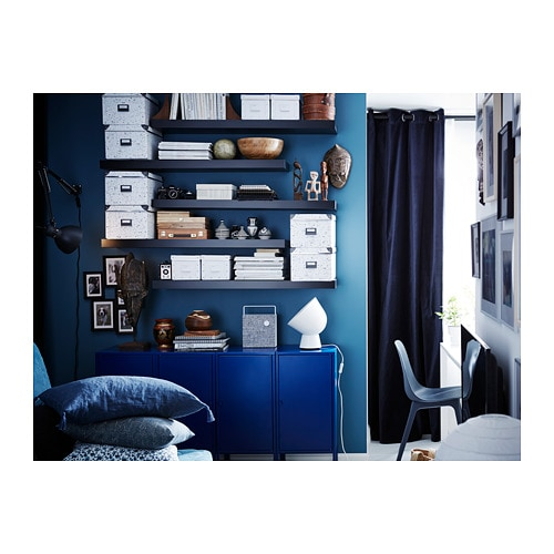 LACK 라크 벽선반 IKEA 벽선반의 고정부품이 드러나지 않습니다.
