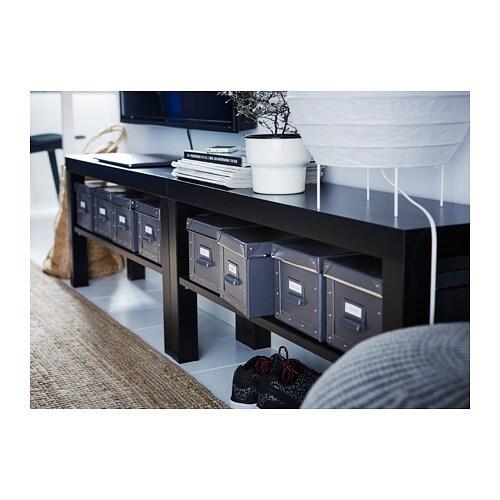 LACK 라크 TV장식장 IKEA 뒷면이 뚫려 있어서 전선을 쉽게 정리할 수 있습니다.