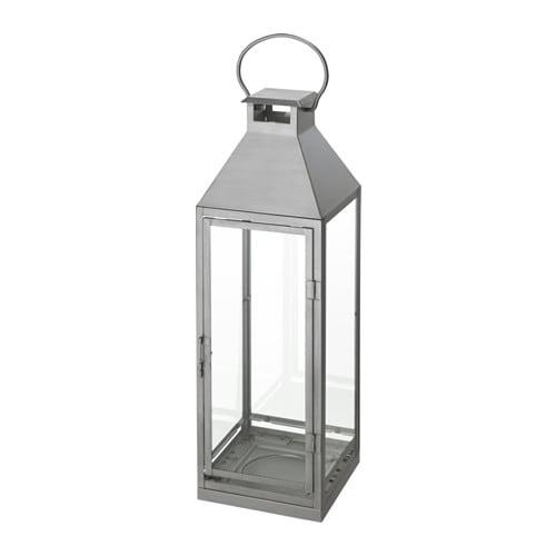 LAGRAD 양초L실내외랜턴 - IKEA