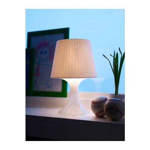 LAMPAN 람판 탁상스탠드 IKEA 부드럽고 아늑한 느낌의 불빛입니다.