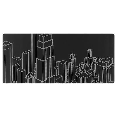 LÅNESPELARE 로네스펠라레 게이밍 마우스패드, 패턴, 90x40 cm