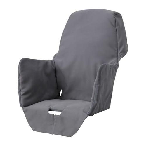 LANGUR 랑우르 유아용의자 패드시트커버 IKEA 패딩 처리가 되어 있어서 아이의 몸에 느껴지는 압력을 덜어주고 포근하고 편안한 느낌을 줍니다. 커버는 물세탁이 가능하며 쉽게 씌우고 벗길 수 있습니다.