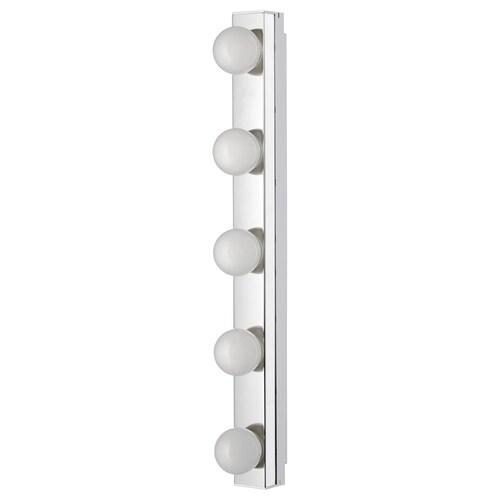 레셰 LED벽부착등 스테인리스 500 루멘 60 cm 6 cm 11 cm 9 W