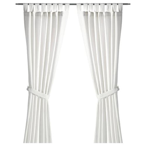 IKEA 렌다 커튼한쌍+장식띠
