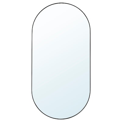 LINDBYN 린드뷘 거울, 블랙, 60x120 cm