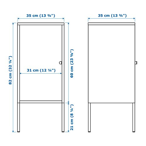 LIXHULT 릭스훌트 수납장 IKEA 자유로운 조합이 가능한 수납 솔루션입니다. 원하는 색상과 크기를 선택해보세요. 수납장 문 안쪽에 중요한 자료, 편지, 신문 등을 정리해 둘 수 있습니다. 도어는 공간에 맞춰 좌우 어디에든 설치할 수 있습니다.