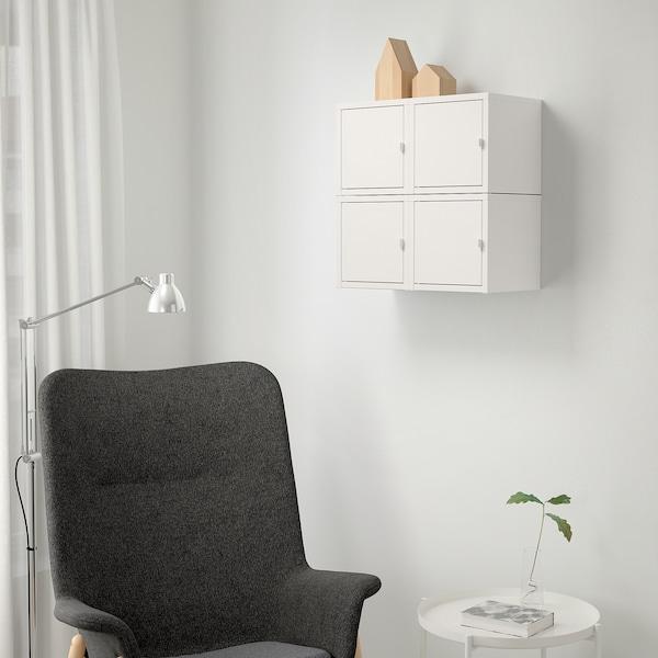 LIXHULT 릭스훌트 벽수납콤비네이션, 화이트, 50x25x50 cm