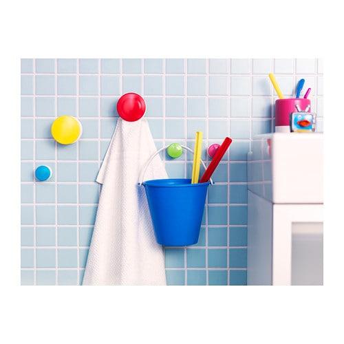 LOSJÖN 로셴 수건걸이 IKEA 벽에 쉽게 설치할 수 있습니다. 뒷면의 접착스티커나 나사를 이용하여 벽에 고정시켜주세요.