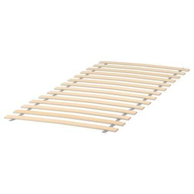 LURÖY 루뢰위 침대갈빗살, 70x160 cm