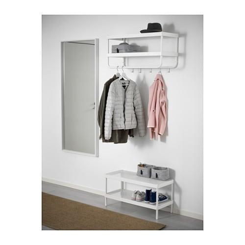 MACKAPÄR 마카페르 모자/코트걸이 IKEA 후크는 탈부착이 가능하며, 원하는 위치로 옮길 수 있습니다.