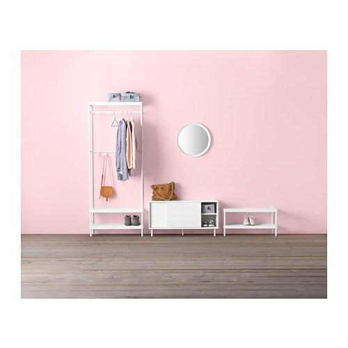 MACKAPÄR 마카페르 신발장 IKEA 더 많은 신발 수납공간이 필요하다면, 첫 번째 신발장 위에 추가로 설치해보세요.
