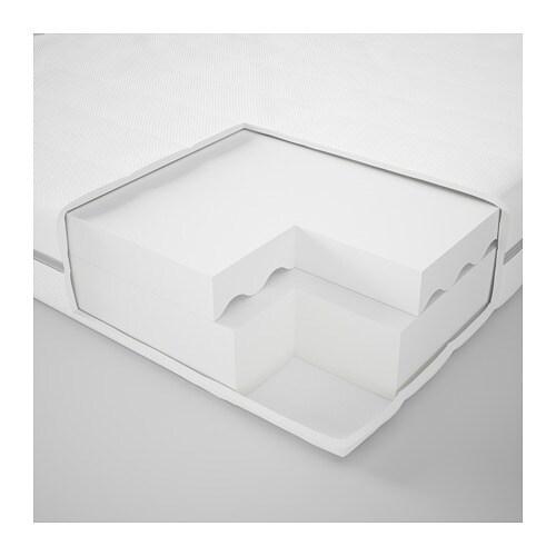 MALFORS 말포르스 폼매트리스 IKEA 탄성폼 매트리스가 몸 전체를 편안하게 받쳐줍니다. 패브릭을 벗겨서 물세탁할 수 있습니다. 롤 포장 매트리스로 쉽게 집으로 들고 갈 수 있습니다. 25년 품질보증. 자세한 내용은 품질보증 브로슈어를 참조하세요.