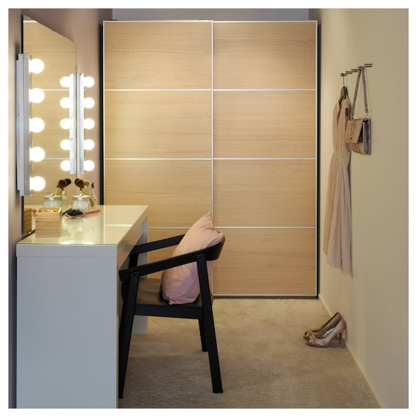 MALM 말름 화장대, 화이트, 120x41 cm