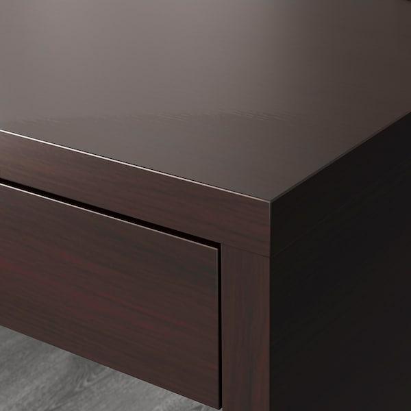 MICKE 미케 책상, 블랙브라운, 142x50 cm