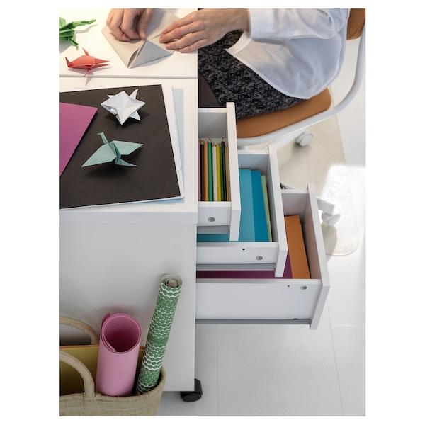 MICKE 미케 이동식서랍유닛, 화이트, 35x75 cm