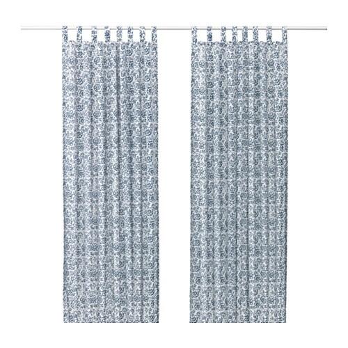MJÖLKÖRT 커튼한쌍 - IKEA