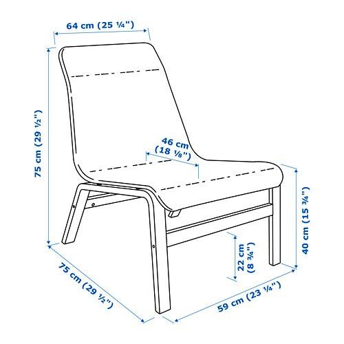 NOLMYRA 놀뮈라 이지체어 IKEA 가벼운 암체어로 청소를 하거나 가구의 위치를 바꿀 때도 쉽게 옮길 수 있습니다.