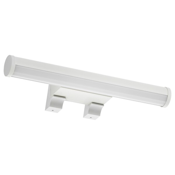ÖSTANÅ 외스타노 LED수납장/벽부착등, 화이트, 36 cm