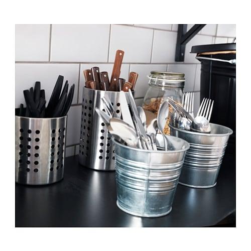 ORDNING 오르드닝 수저통 IKEA 자주 사용하는 조리도구를 넣어두면 요리가 더욱 쉬워집니다.