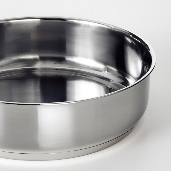 OUMBÄRLIG 우움벨리그 소테팬+뚜껑, 24 cm