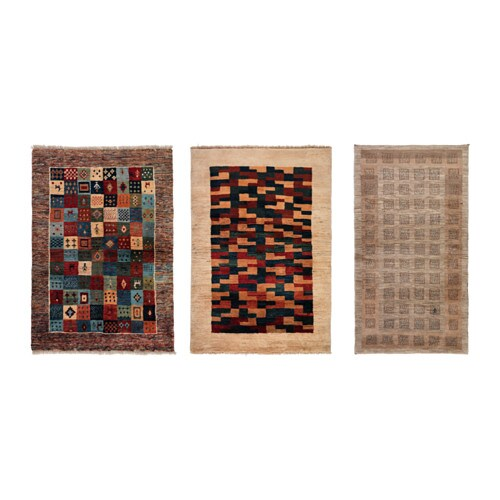 Ikea Kelim persisk kelim gashgai rug flatwoven ikea