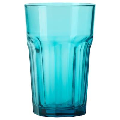 POKAL 포칼 유리컵, 터쿼이즈, 35 cl