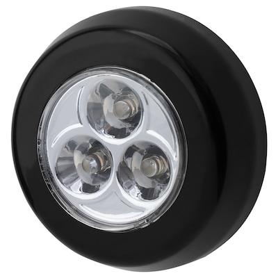 람스타 LED미니등 배터리식 블랙 2 cm 7 cm