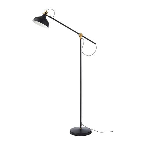 RANARP 라나르프 플로어스탠드/독서등 IKEA 조명의 각도를 자유롭게 조절하여 원하는 곳에 빛을 비출 수 있습니다. 독서등으로 사용해보세요.
