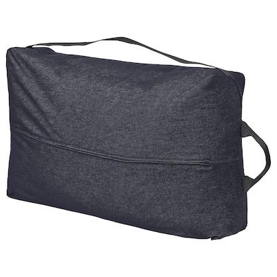 RÅVAROR 로바로르 수납가방, 반스타 다크블루, 78x50 cm