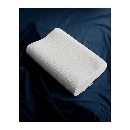 ROSENSKÄRM 로센셰름 인체공학적 베개, 측면 수면/똑바로 눕는 자세용 IKEA