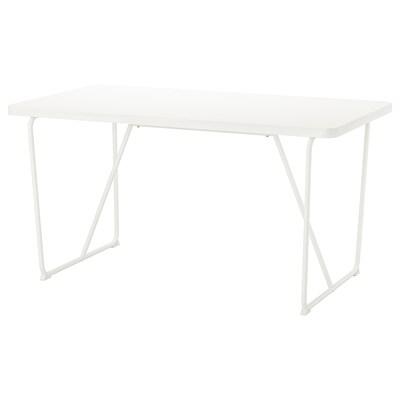 뤼데베크 테이블, 화이트/바카뤼드 화이트, 150x78 cm