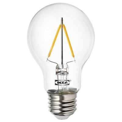 RYET 뤼에트 LED전구 E26 100루멘, 구형 투명
