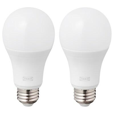 RYET 뤼에트 LED 전구 E26 1521 루멘, 구형 오팔 화이트