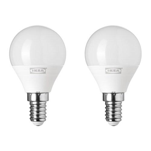 RYET 뤼에트 LED전구 E14 200루멘 IKEA LED제품은 백열전구보다 에너지 소비량이 최대 85%가 낮고 수명도 10배나 오래갑니다.