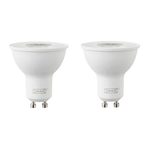RYET 뤼에트 LED전구 GU10 400루멘 IKEA LED제품은 백열전구보다 에너지 소비량이 최대 85%가 낮고 수명도 10배나 오래갑니다.