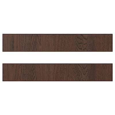 SINARP 시나르프 서랍앞판, 브라운, 60x10 cm
