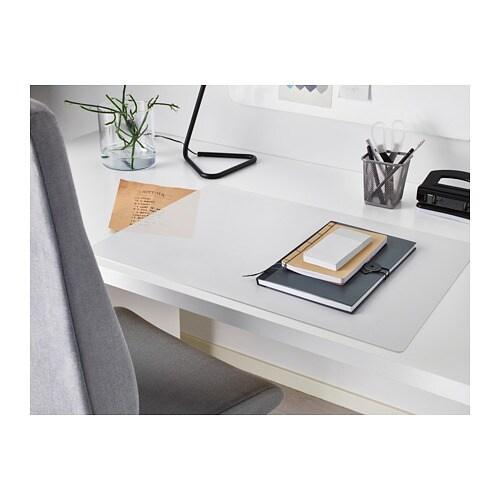 SKVALLRA 스크발라 책상패드 IKEA 책상을 보호하여 얼룩이 지거나 자국이 남지 않습니다.