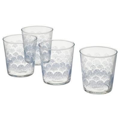 SOMMARDRÖM 솜마르드룀 유리컵, 30 cl