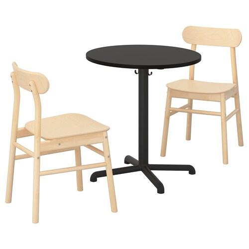 IKEA 스텐셀레 / 뢴닝에 테이블+의자2