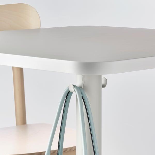 STENSELE 스텐셀레 테이블, 라이트그레이/라이트그레이, 70x70 cm