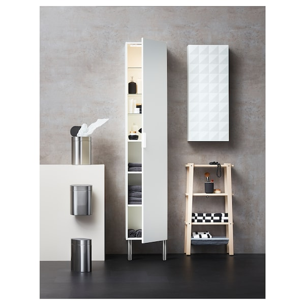 STÖTTA 스퇴타 LED 수납장 라인조명+센서, 배터리식 화이트, 32 cm