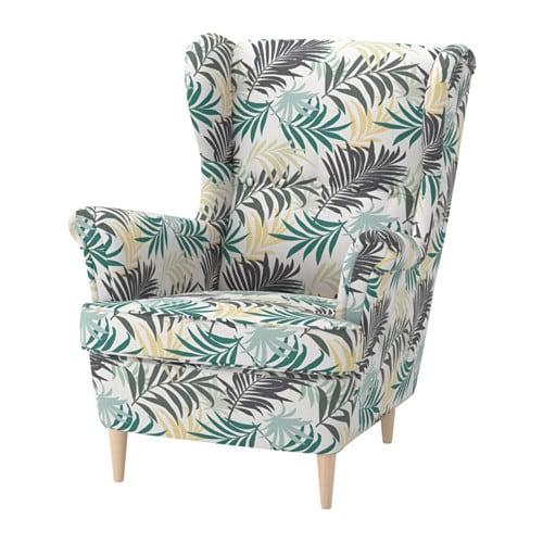 STRANDMON 윙체어 IKEA 의자의 등받이가 높아서 목을 안정적으로 받쳐주기 때문에 더욱 편안하게 쉴 수 있습니다. 10년 품질보증. 자세한 내용은 품질보증 브로슈어를 참조하세요.