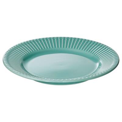 STRIMMIG 스트림미그 접시S, 터쿼이즈, 21 cm