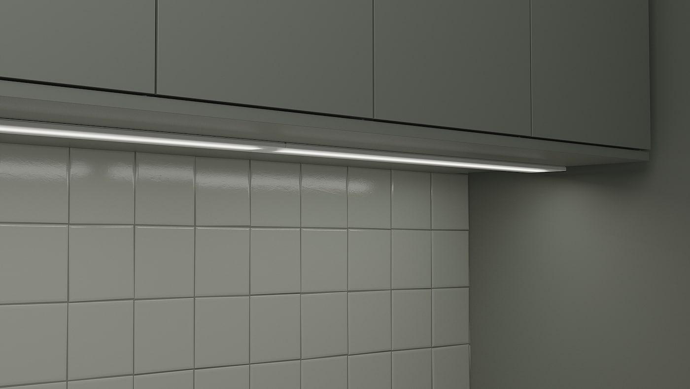 STRÖMLINJE 스트룀리니에 LED조리대 조명, 화이트, 40 cm